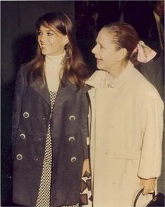 with Ruth Gordon (Ruth played her Mother in 'Inside Daisy Clover')