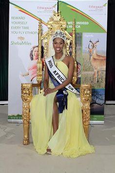 Sarah Jegede Nigerian girl that won Miss Africa Great Britain