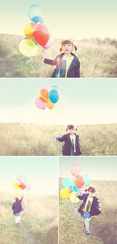 The Red Balloon Photography. Maybe for senior pics. Runaway balloons are so vogue-esque