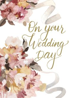 Leading Illustration & Publishing Agency based in London, New York & Marbella. Wedding Day Cards, Wedding Day Quotes, Wedding Messages, Wedding Art, Wedding Images, On Your Wedding Day, Happy Birthday Greetings, Happy Anniversary, Illustration Art