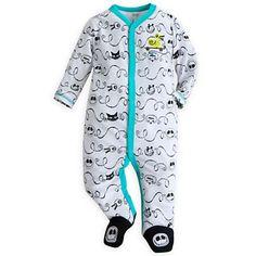Your WDW Store - Disney INFANT Bodysuit - Jack Skellington Stretchy Sleeper