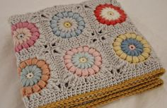 Crotchet - beautiful colours.