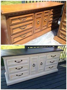 Dixie Belle Fluff Chalk Mineral White Paint, Furniture Paint, Cabinet Paint, Craft Paint, Paint Part