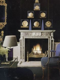 | P |  Circa 1965 Room by the iconic David Nightingale Hicks  - Antique with Modern