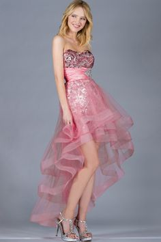 10 Tiered High-low Dresses for Prom 2014