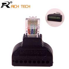$23.32 (Buy here: https://alitems.com/g/1e8d114494ebda23ff8b16525dc3e8/?i=5&ulp=https%3A%2F%2Fwww.aliexpress.com%2Fitem%2FPromotion-10pcs-lot-RJ45-Ethernet-Male-To-8-Pin-AV-Terminal-Screw-Adapter-Converter-Block-Plug%2F32757355843.html ) Promotion!10pcs/lot RJ45 Ethernet Male To 8 Pin AV Terminal Screw Adapter Converter Block Plug CCTV Accessory for just $23.32