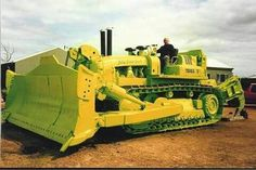 Old Terex dozer Heavy Construction Equipment, Construction Machines, Heavy Equipment, Big Tractors, Vintage Tractors, Big Rig Trucks, Dump Trucks, Earth Moving Equipment, Tractor Photos