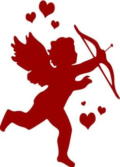 heart and cupid