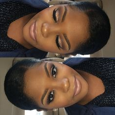 Super wedding makeup for brown eyes black women brides brows Ideas Glam Makeup, Makeup On Fleek, Glitter Makeup, Flawless Makeup, Pretty Makeup, Bridal Makeup, Wedding Makeup, Makeup Tips, Makeup Looks