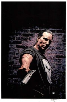 The Punisher Issue 26 Cover by Tim Bradstreet Comic Art Punisher Marvel, Marvel Comics, Daredevil Punisher, John Bernthal, Comic Art, Comic Books, Grilling Gifts, Fitness Gifts, Jon Snow
