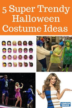 Trendy costume ideas you just won't be able to resist! (Most you can make from things you already own at home!)