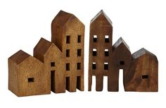 Wooden Houses - rawspace