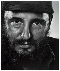 Fidel Castro. Wow, what a portrait.