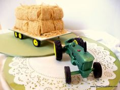 Tractor Cake for little boy's Second Birthday.