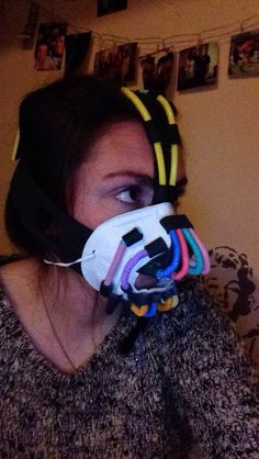 #DIY #Halloween #Bane                                                       …