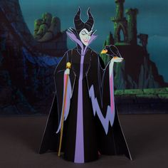 Maleficent 3D Papercraft | Spoonful