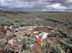 Stone tool from Oregon archaeological site could point to oldest human presence in western U.S. -- science:   The tool actually was found in 2012 beneath an undisturbed layer of ash from a Mount St. Helens eruption dating to 15,800 years ago.