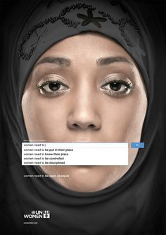 Ad series developed for UN Women by Ogilvy & Mather Dubai