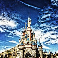 I would love to just visit the city of Paris but to go to my favorite theme park too, I couldn't be happier!
