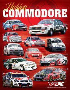 Holden COMMODORE.