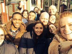 Jake Wood shares a photograph of an EastEnders Oscars-style selfie - 25 March 2014 Jaqueline Jossa, Eastenders Cast, Oscar Fashion, Soap Stars, Johnny Was, East London, Celebs, Celebrities, Bbc