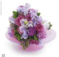 Beautiful purple arrangement. Love the lilac pop!