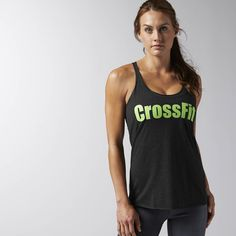 Reebok CrossFit Neon Tank - Black   Reebok US  Either color (Pink or green)  Medium size