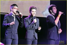 Il Volo Tour with Barbra Streisand ~ Il Volo take over the stage for a concert held at Sony Centre for the Performing Arts in Toronto, Canada on Saturday night (August 25, 2012).