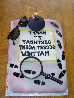 Spy Themed Birthday Cake Catherines Cakes Perth Kids Cakes - Real birthday cake images