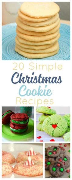 Easy Christmas cookie recipes to help you keep it simple this holiday season