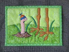 Spring Mug Rug, maybe...., via Flickr.