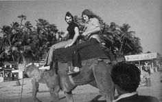 Robert Plant and Richard Cole in India 1972