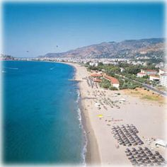 With its unique defensive position and well-sheltered harbor, the city played an essential role during the Hellenistic years and served as a retreat for pirates under Roman control. Places Around The World, Around The Worlds, Turkey Now, Alanya Turkey, Antalya, Historical Sites, Beach Resorts, Old Town, Pirates