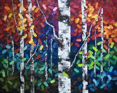 "February | 2014 | Melissa McKinnon: Artist melissamckinnon.wordpress.com1000 × 797Search by image  Aspen tree painting, aspen trees, birch tree painting, birch trees, Calgary artist. """
