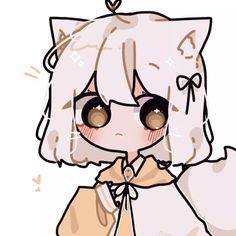 Cute Animal Drawings Kawaii, Cute Little Drawings, Kawaii Art, Cute Drawings, Cute Anime Chibi, Cute Anime Pics, Kawaii Anime Girl, Cartoon Art Styles, Cute Art Styles
