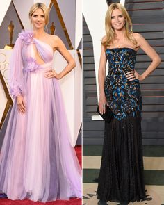 From Brie Larson to JLaw, See the 10 Best Oscars After-Party Outfit Changes - Heidi Klum  - from InStyle.com
