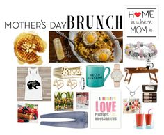 """""""#Mothersday"""" by caity3726 ❤ liked on Polyvore featuring interior, interiors, interior design, home, home decor, interior decorating, Bling Jewelry, Mark & Graham, Kate Spade and Too Faced Cosmetics"""