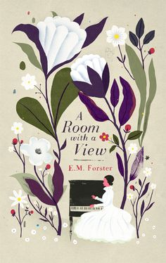 """A Room with a View"" by E. M. Forster, Penguin UK. Illustrated by Christopher Silas Neal"
