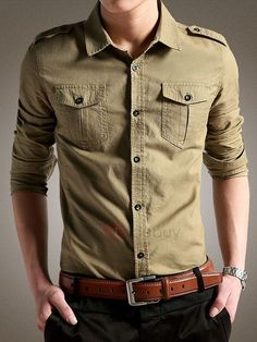 Plain Single-Breasted Lapel Mens Casual Shirt Women's Best Online Shopping - Offering Huge Discounts on Dresses, Lingerie , Jumpsuits , Swimwear, Tops and More. Mens Printed Shirts, Mens Plain T Shirts, Mens Flannel Shirt, Cheap Shirts, Mens Tee Shirts, Casual Shirts For Men, Men Casual, Mens Designer Shirts, Business Casual Men