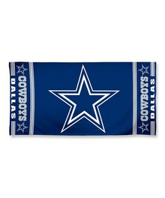 Look what I found on #zulily! Dallas Cowboys Beach Towel #zulilyfinds