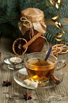 A Cup of Christmas Tea Coffee Time, Tea Time, Momento Cafe, Chocolate Cafe, Chocolate Cupcakes, Cuppa Tea, Christmas Tea, Christmas Wrapping, Beltane