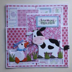 Er is er één jarig Boera Boera | Betha's kaarten