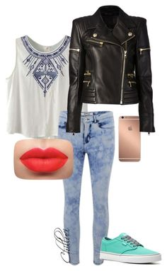 """""""Autumn 2015"""" by chilluci on Polyvore featuring ONLY, Vans, Mura and Balmain"""