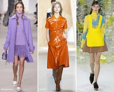 New York Fashion Week Fall 2016 Modetrends: levendige kleuren
