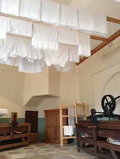 Old laundry room @ Audley End House, UK