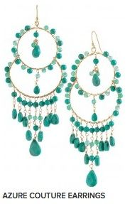 Stella & Dot earrings- sooo pretty