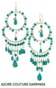 Stella & Dot earrings- sooo pretty