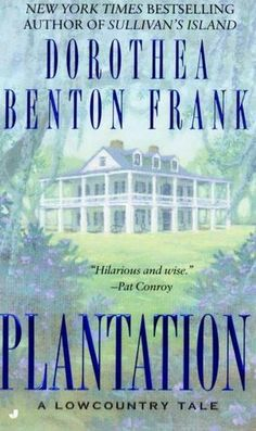 "Pat Conroy called Dorothea Benton Frank's debut, Sullivan's Island, ""hilarious and wise,"" while Anne Rivers Siddons declared that it ""roars with life."" Now Frank evokes a lush plantation in the. Beach Reading, I Love Reading, Reading Lists, Book Lists, Reading Time, I Love Books, Great Books, Books To Read, My Books"