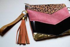 Diy Clutch, Clutch Bag, Orange Clutches, Fashion Bags, Womens Fashion, Diy Handbag, Leather Pouch, Small Bags, Purses And Bags