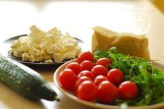 Sałatka kuskus z fetą | Cuscus salad http://www.codogara.pl/6378/salatka-z-feta/